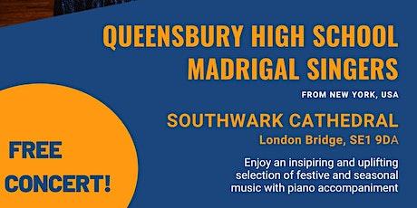 Free concert !  Queensbury High School Madrigal Singers tickets