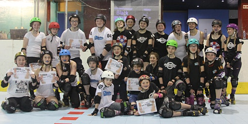Sheffield Steel Junior Rollers 4th Birthday Scrim Levels 2 and 3