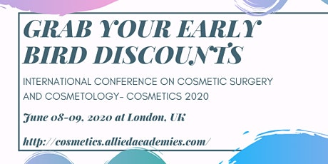 3rd international Conference on Cosmetic Surgery and Cosmetology tickets