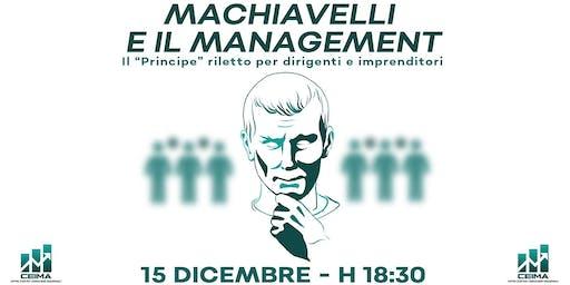 MACHIAVELLI E IL MANAGEMENT
