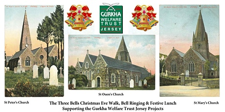 The Three Bells Christmas Eve Walk, Bell Ringing & Festive Lunch tickets