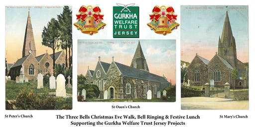 The Three Bells Christmas Eve Walk, Bell Ringing & Festive Lunch