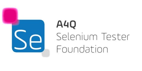 Certified Selenium Tester Foundation Level tickets