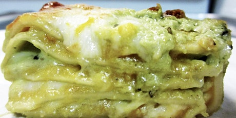 Lasagna w/Sausages, Home made Béchamel with Paolo. tickets