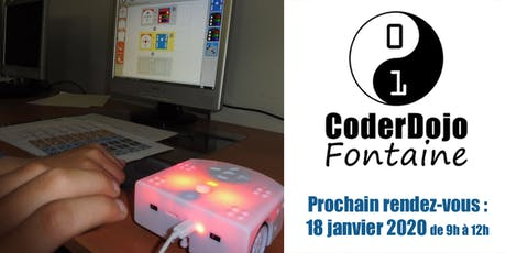 CoderDojo Fontaine - 18/01/2020 billets