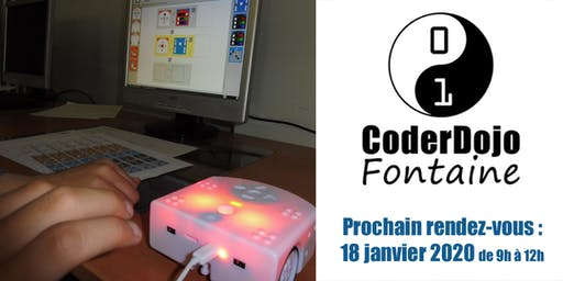 CoderDojo Fontaine - 18/01/2020