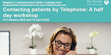 Contacting Patients by Telephone - 2020 tickets