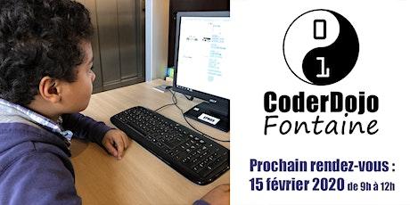 CoderDojo Fontaine - 15/02/2020 billets