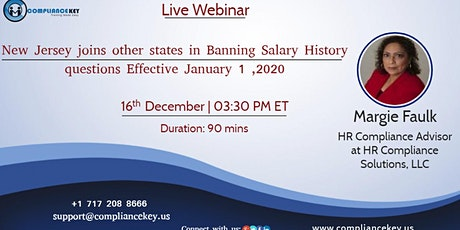 New Jersey joins other states in Banning Salary History questions Effective tickets