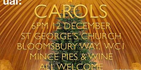 University of the Arts London Christmas Carols tickets
