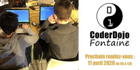 CoderDojo Fontaine - 11/04/2020 billets