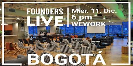 Founders Live Bogotá entradas