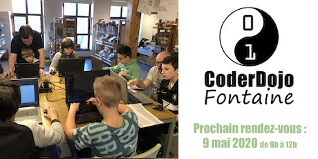 CoderDojo Fontaine - 09/05/2020 billets