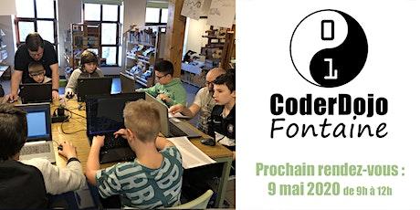 CoderDojo Fontaine - 02/05/2020 tickets