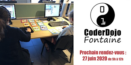 CoderDojo Fontaine - 27/06/2020 billets