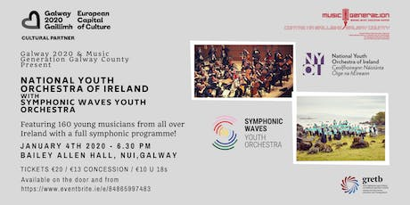 National Youth Orchestra of Ireland and Symphonic Waves tickets
