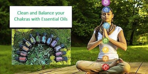 Make Essential Oil Blends to Balance Chakras
