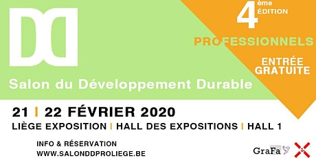 Salon du Développement Durable (pro) 2020 billets