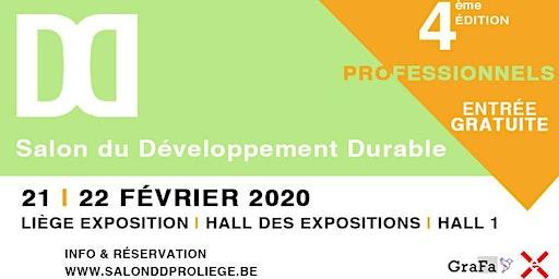 Salon du Développement Durable (pro) 2020