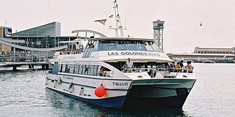 Las Golondrinas Boat tour around Barcelona Port 40min tickets