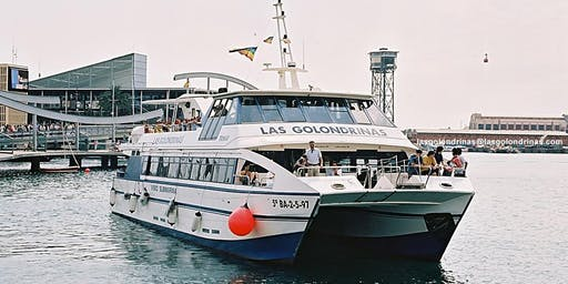 Las Golondrinas Boat tour around Barcelona Port 40min