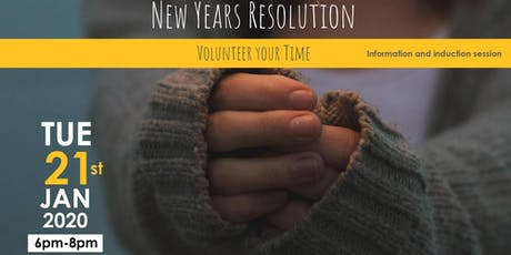New Years Resolution Volunteering Induction Workshop tickets