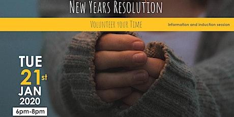 New Years Resolution Volunteering Induction Workshop tickets