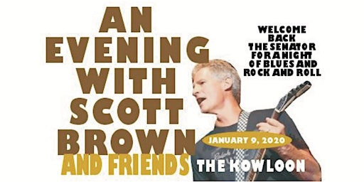 Scott Brown and Friends to benefit The Sib Hashian Scholarship Fund