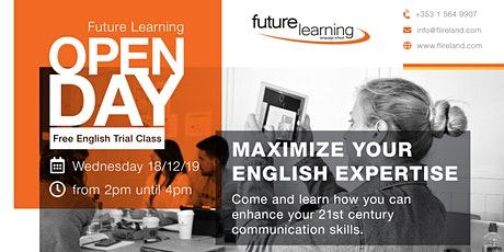 Free English Class - Open Day tickets