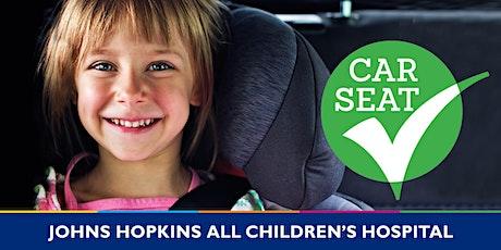 Car Seat Check  -Sarasota County Health Dept - AM tickets