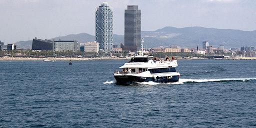 Las Golondrinas Boat tour along Barcelona's coastline 1hour 30min