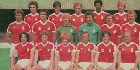 An evening with Nottingham Forest FC European Cup Winners