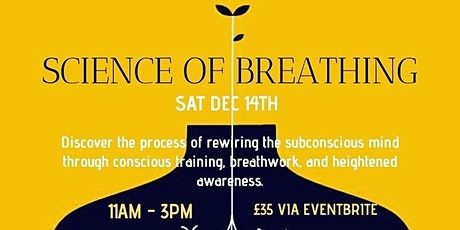 Science of Breathing tickets