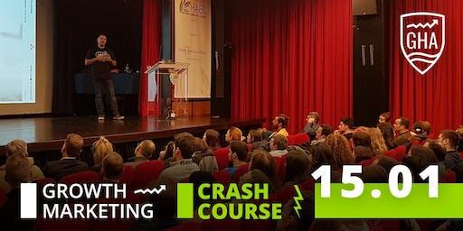 Growth vs Digital Marketing Crash Course - 15 Jan 2020