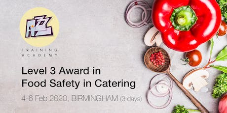 Level 3 Award in Food Safety in Catering tickets