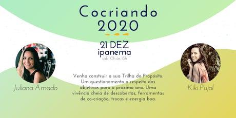 Cocriando 2020 ingressos