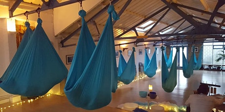 7-8:30pm Aerial Relaxation Pods… with live ambient music! tickets