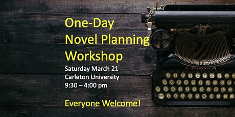 One-Day Novel Planning Workshop tickets