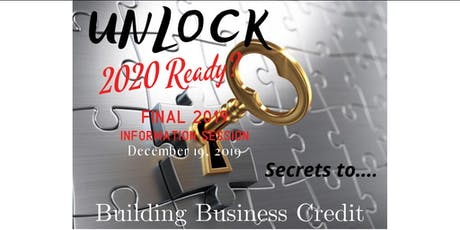 Unlock Secrets to Building Business Credit tickets