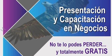 Presentación y Capacitación en Negocios con Líder Internacional de Colombia entradas