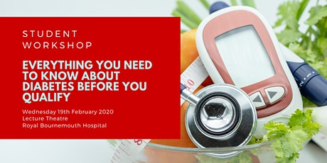 Workshop: Everything you need to know about diabetes before you qualify tickets