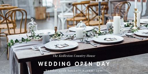Wedding Open Day at The Kedleston Country House