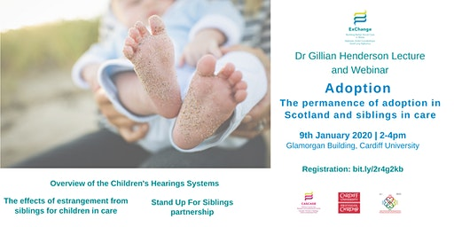 Adoption Lecture: The permanence of adoption in Scotland & siblings in care