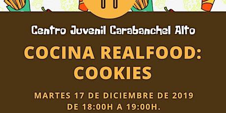 Taller de Cocina: Real Food - Cookies entradas