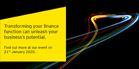 Transforming your finance function to unleash your business's potential tickets