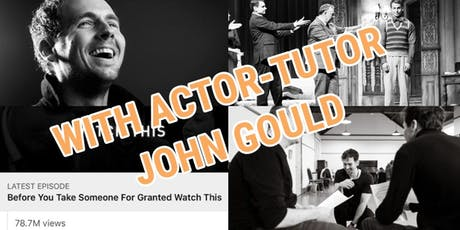 FREE ACTING CLASS - Watford - Learn with a professional Actor tickets