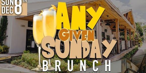 Any Given Sunday Brunch #TheBrunchClub