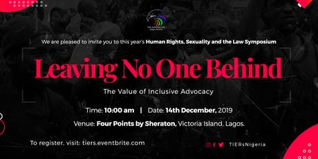 Human Rights, Sexuality and The Law tickets
