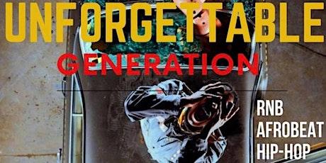 Unforgettable Generation  tickets