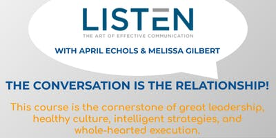 6 HR CE 'Listen: The Art of Effective Communication'